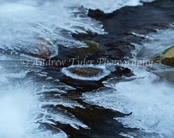 Frozen Over River