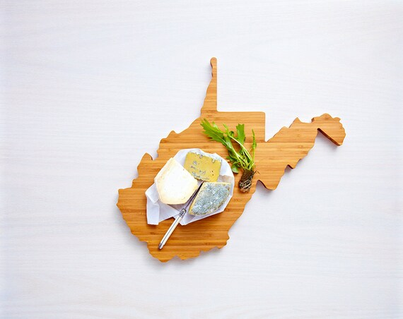 West Virginia State Cutting Board,Father's Day Gift,   Unique Wedding Gift, Personalized Gift, Summer Wedding GIft, Graduation Gift