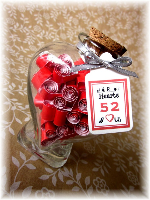 Items similar to valentine gift for him or her notes in a