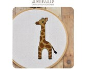 Baby Giraffe Cross Stitch Pattern Instant Download