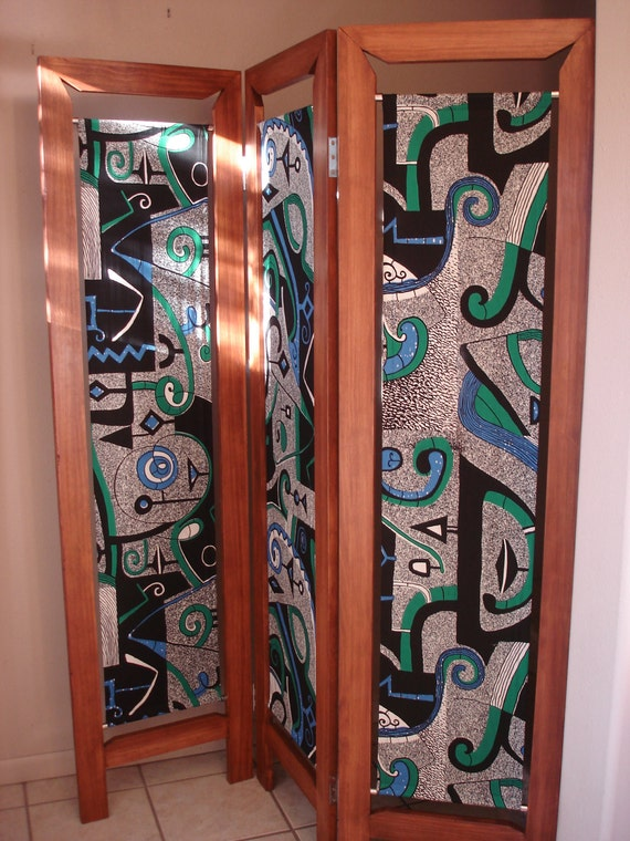 Room Divider Folding Screen Made Of Wood And Dutch By