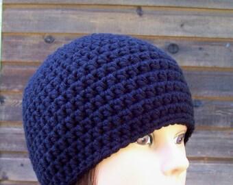 womens crochet hat girls hat beanie ladies crochet beanie crocheted hats for women basic black 6596