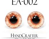 1 pairs - 12mm Handmade glass eyes Human Eyes Monster Eyes Cat Eyes EA-002 NO WASHER