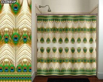 bohemian feather peacock shower curtain bathroom decor fabric kids bath window curtains panels valance bathmat