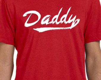 Newborn Gift New Dad Gift DADDY Mens T shirt Newborn Tshirt Christmas Gift Dad to be Husband Gift Holiday Gift