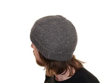 A Bloke's Beanie Knitting Pattern PDF.  Mens Hat.  Mens Beanie. PATTERN Only