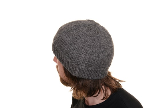 Men s Hat Knitting Pattern Dk : A Blokes Beanie Knitting Pattern PDF. Mens Hat. Mens