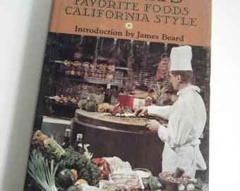 1967 Elena's Favorite Foods California Style Cookbook Recipes By Elena Zelayeta Intro by James Beard