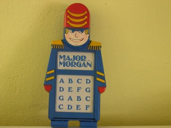 Vintage Playskool Major Morgan The Electronic By