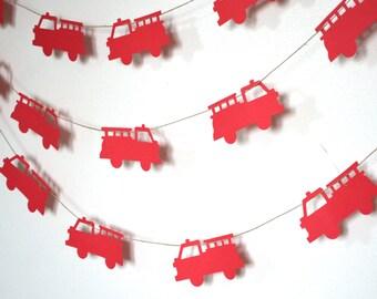 Fire Truck Banner Kit