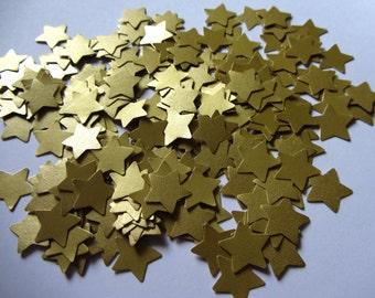Gold Wedding Confetti Stars Wedding star confetti paper stars wedding decorations wedding table decorations paper stars die cut stars