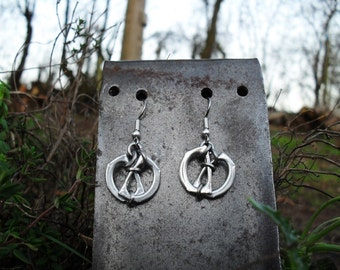 Unique Eco Recycled Earrings, Lightweight, Hypo-allergenic, Pull Tab Jewelry