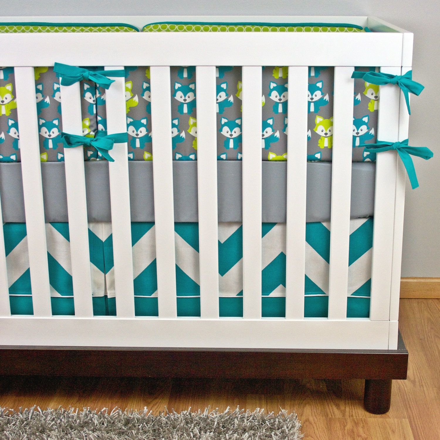fox crib bedding nursery bedding baby crib set fox crib set