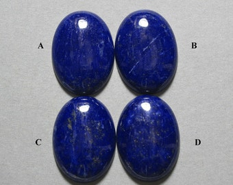 blue LAPIS oval cabochon 22X30mm designer cab S1