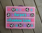 RAINBOW LOOM organizer-great gift for kids!!