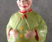 Vintage Roly Poly Clown Doll