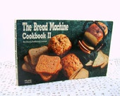 Bread Machine Cookbook II, Nitty Gritty Cookbook 1991 Vintage Paperback Cookbook, Yeast Bread Recipes, Bread Machine Kneading and Baking