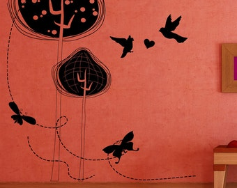 Vinyl Wall Decal Sticker Nature Design 1356s
