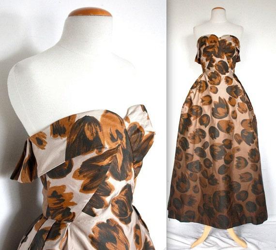 Sale vintage 1940 39 s dress 40s 50s haute couture style for Haute couture sale