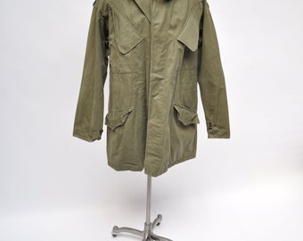 M65 vintage military army field jacket coat neatherlands 1950s large