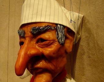 Large Ebenezer Scrooge Marionette (Made to order)
