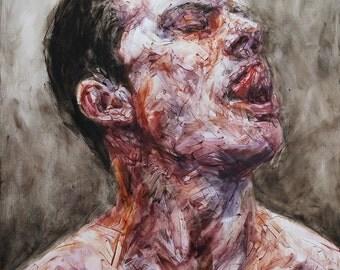 Contempt of Mind VII, Original Oil Painting