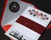 Invite Card (Profiles): Custom Illustrated Wedding Invitations