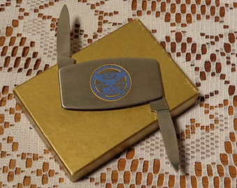 Vintage Zippo Pocket Knife-  Zippo Advertising Pocket Knife-  14-0046