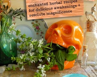 MORNING MISCHIEF - Enchanted Herbal Recipes for Delicious Awakenings & Resolute Magnificence // herb ebook herbal medicine