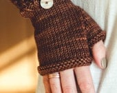 KNITTING PATTERN for mittens & Fingerless Gloves for girls and women