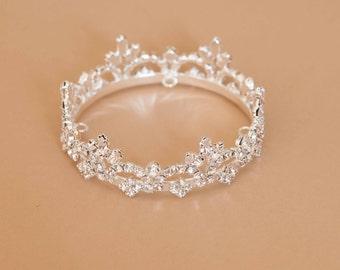 Newborn Rhinestone Crown Tiara Photo Prop #3