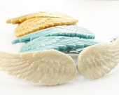 Pearlized Wing Hair Barrettes (Set of 2)