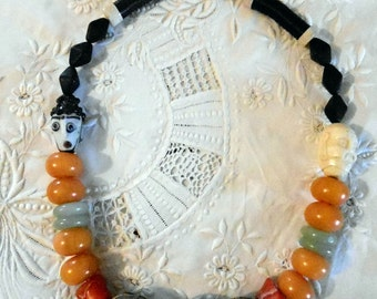 SALE! A Bit Of Whimsy Ethnic Necklace