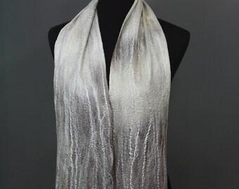 PDF pattern felting tutorial wool felted scarf felted pattern for felt easy felt felting DIY tutorial