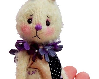 Bounce, mini bunny rabbit digital sewing pattern by pcbangles