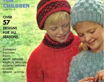 Vogue Knitting Magazine SPECIAL ISSUE For CHILDREN 1965