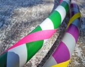 """PiCk 3 CoLoRs Beginner's """"Infinity"""" Collapsible PE Hula Hoop // You choice of Tubing and Diameter!"""