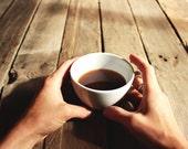 1lb Roasted Coffee - Sumatra Toba Batak Peaberry - Whole Bean Coffee