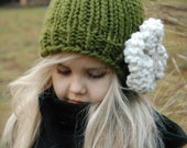 KNITTING PATTERN-Valencia Cloche' (Toddler, Child, Adult sizes)