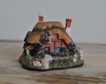 Vintage thatch cottage figurine