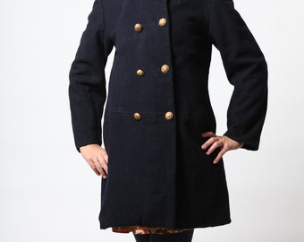 French military peacoat vintage