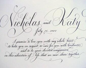 Wedding Vows.  Marriage Vows
