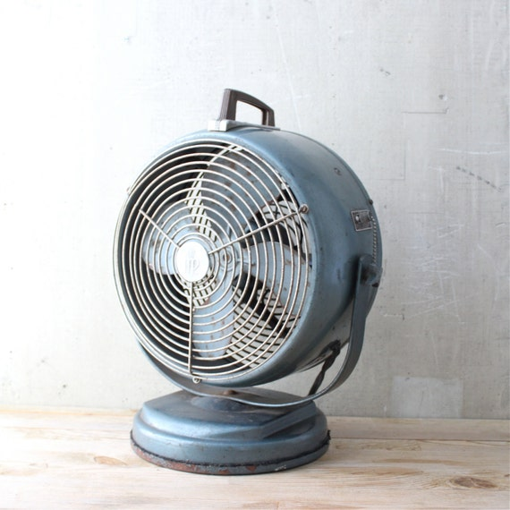 Vintage industrial style fan for Vintage stuhle gunstig