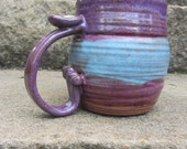 Unique Purple and Blue Mug