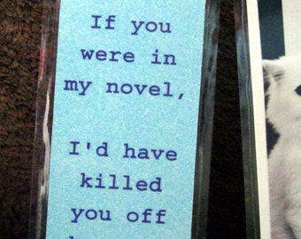Tell 'Em How You Really Feel with a Bookmark