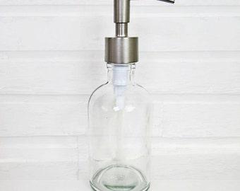 Liquid Soap Dispenser Pump | Soap Dispenser Bottle | Soap Container | Modern Bathroom Accessories |  Farmhouse Kitchen Decor | Pump Bottle