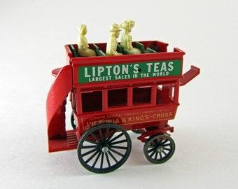 Lledo Day's Gone Lipton's Tea Omnibus Vintage Toy Car
