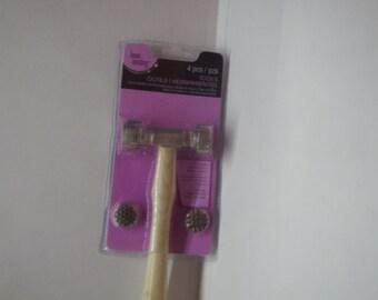 4 Piece Texture Hammer
