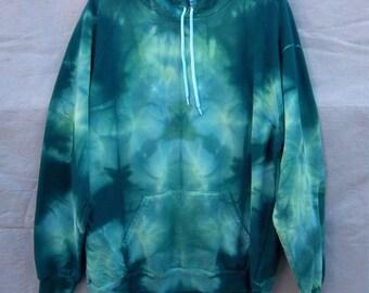Plus Size Spruce Triangles Hoodie Sweatshirt