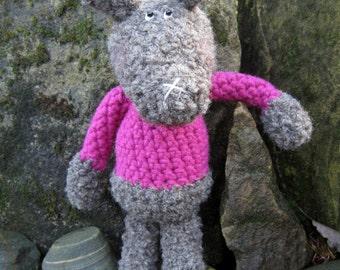 Crochet Pattern for Ruby Rabbit
